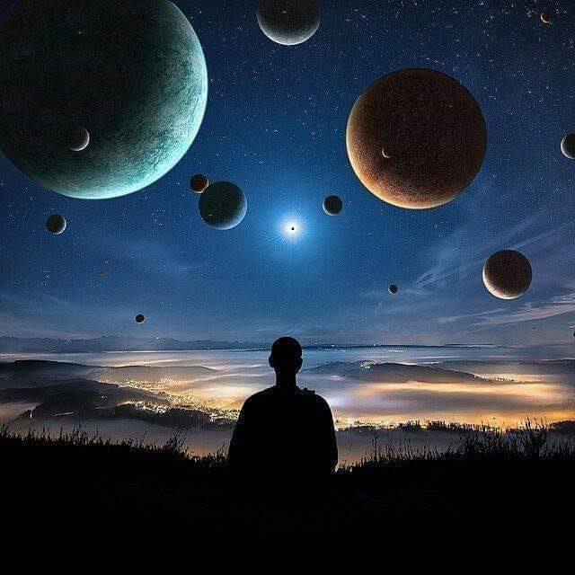 dialogue entre moi et l'univers